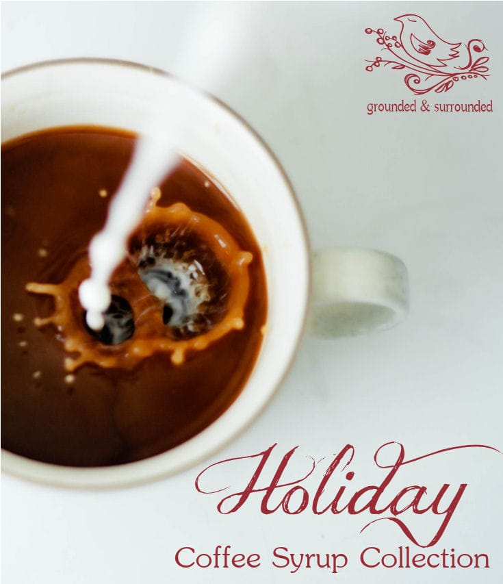 Holiday Coffee Syrup Collection and 5 Tips to Healthify Your Relationship with Coffee | Grounded and Surrounded