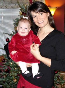Sarah and Anyas First Christmas
