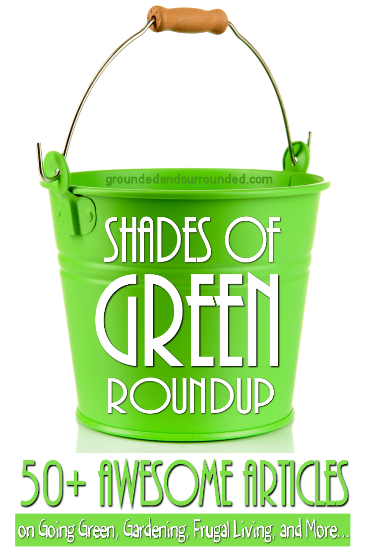 We simply adore all Shades of GREEN here at Grounded & Surrounded. This roundup includes more than 50 of our favorite articles, recipes, gardening, money, home, and kids activities about everything GREEN. https://happihomemade.com/shades-of-green-roundup/