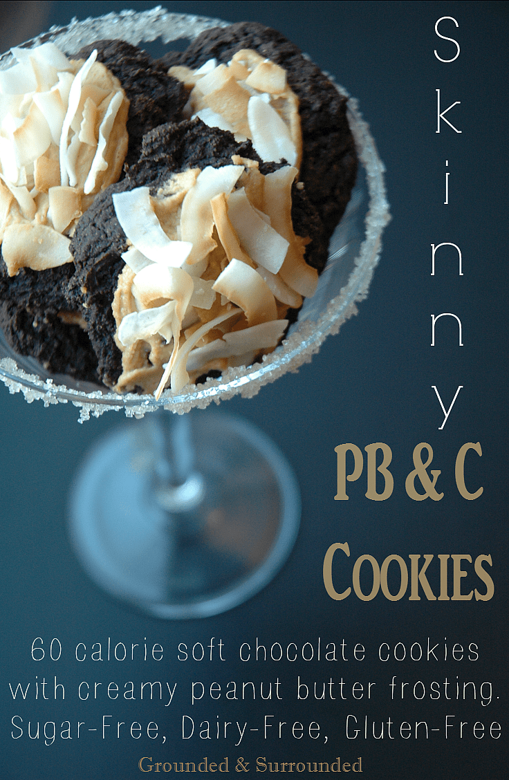 Does anything get better than the combo of chocolate and peanut butter? These skinny and decadent cookies do not disappoint! Yet, they won't ruin your healthy eating goals. They taste amazing :) -Sammi