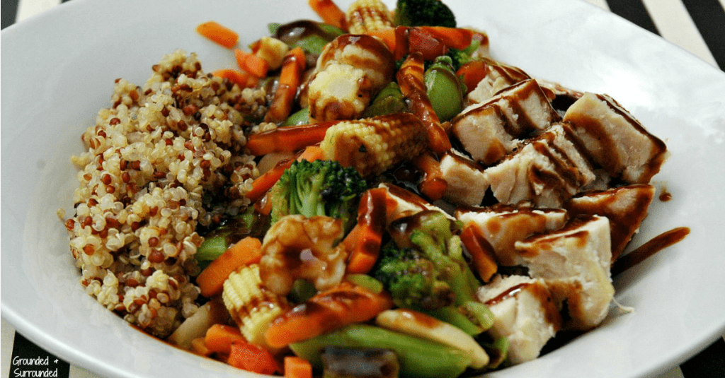A simple and healthy take on chicken teriyaki that can be made in a snap! That's right! Move over take-out, we got you beat! This will quickly become a family favorite and go-to meal on those busy weeknights. The sweetness, spiciness, and savory flavors of this whole foods recipe hit every single taste bud! It's gluten-free as well! https://happihomemade.com/recipe/veggie-packed-chicken-teriyaki/