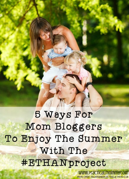 Here is what people are saying about the #ETHANproject Blogger Kit for Moms! This is the simple summer solution you have been searching for.