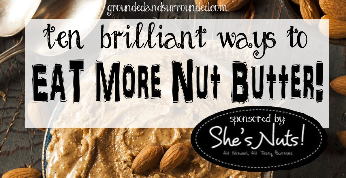 Paleo nut butter is one of our favorite ways to eat nuts! You want to make sure that you are consuming only the highest quality nut butters made with minimal add-ins. Healthy and peanut allergy friendly nut butters can be substituted for peanut butter in nearly any recipe. Don't be afraid to mix things up and substitute your favorite nut butter in these recipes. http://www.groundedandsurrounded.com/eat-more-nut-butter/