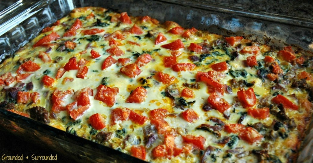 Healthy and clean eating breakfast dishes ROCK! Not only is this dish filling, but it is gluten-free and SO flavorful! Don't let the simple ingredients fool you, it is delicious. You can prepare this easy casserole the night before and let it hang out in the fridge until morning or bake it right away. Cut it into 6 huge portions to eat for breakfast all week or 9-12 slices to feed a crowd at brunch. https://happihomemade.com/recipe/clean-eating-turkey-sausage-egg-bake/
