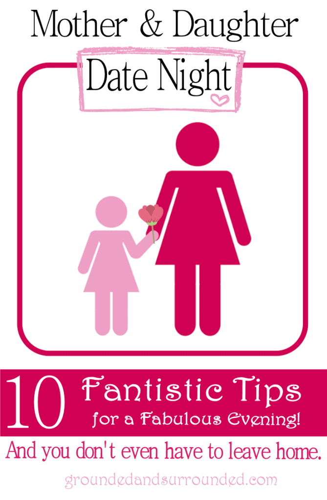 10 Fabulous Tips for the PERFECT Mother Daughter Date Night! Whether you have teen girls or toddlers, you can enjoy a night in (or out) on the cheap with our easy ideas! Quality time with our children is something to be cherished and we help you capture the moments that matter with these fun things to do!