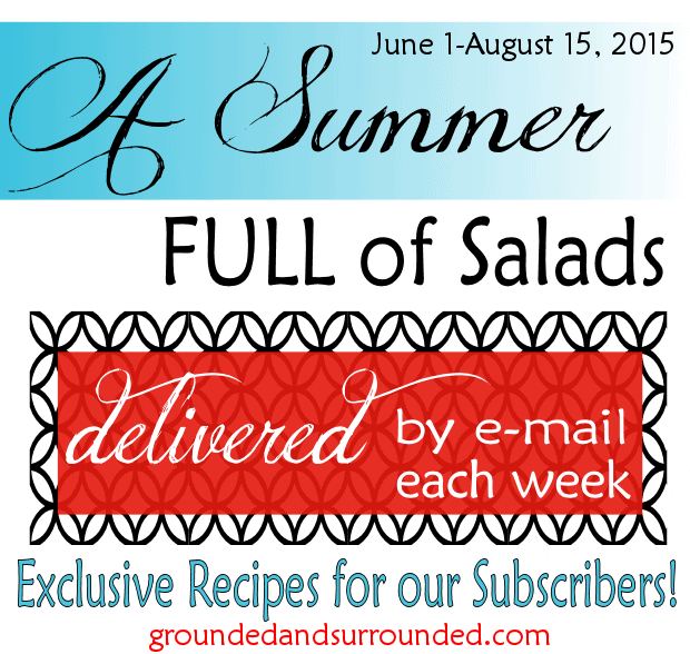 Want clean eating, whole food galore, DELICIOUS salads to make all year long! We have created a digital cookbook that contains all of the salad recipes we shared during the summer of 2015.  Click HERE to download your FREE copy today! Pizza Salad, anyone?! https://happihomemade.com/summer-full-of-salads/