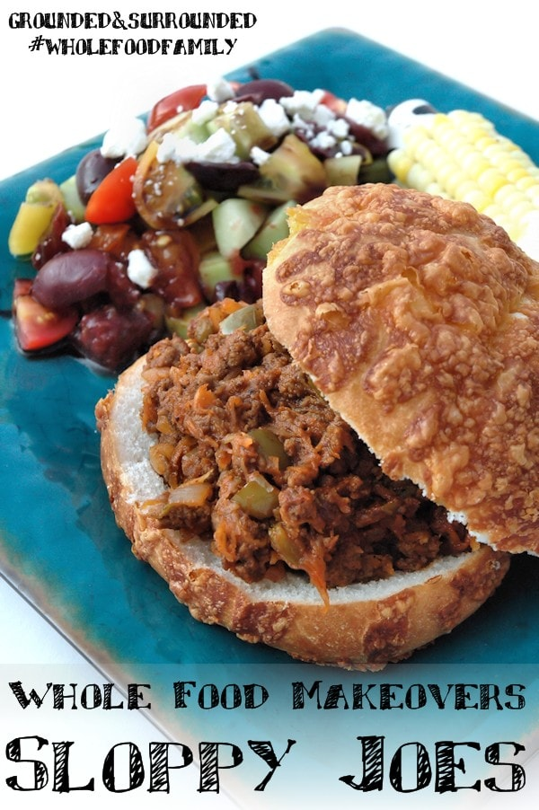 A healthy, easy, and delicious sloppy joe recipe made with tons of vegetables and a few simple pantry ingredients! This isn't your mama's recipe! This hearty dish contains 5 whole food ingredients and all the amazing flavors you have come to expect. If you are looking to bump up the nutritional value of your meals, this ones for you!