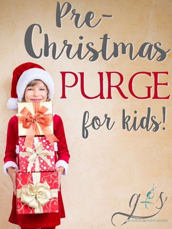 Clutter is both my constant companion (I have 2 grade school kids!) and a threat to my peace of mind. I am always looking for new ways to control the clutter (toys, games, clothes) in my home, and this Pre-Christmas Purge has been a LIFESAVER for our family! I swear organization is my love language! https://happihomemade.com/pre-christmas-purge-for-kids/
