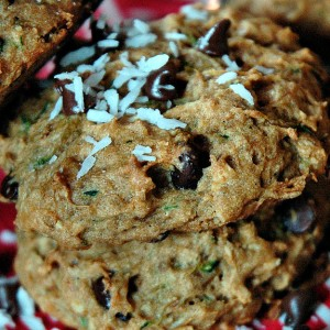 Sustain Recipes Zucchini Cookies Gluten Free Natural
