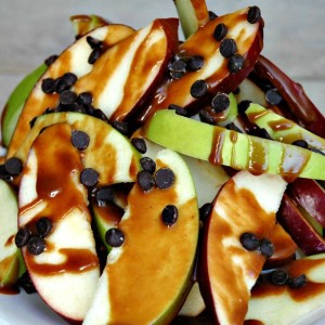 Sustain Recipes Apple Nachos