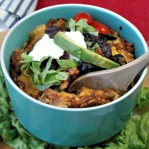 Sustain Recipes Mexican Lasagna Gluten Free