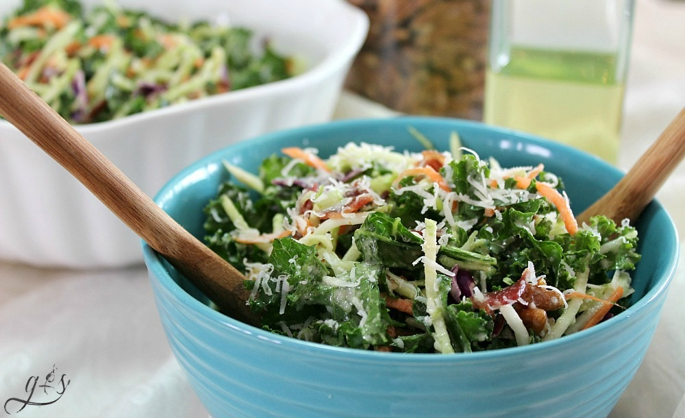 This healthy and easy salad is the perfect addition to any meal! Clean eating and gluten-free can be delicious! This salad is packed with whole foods such as kale, broccoli, pecans, and turkey bacon. Perfect as a light lunch or even a meatless Monday dinner option! This is the best kale and broccoli slaw combination yet! https://happihomemade.com/recipe/kale-and-broccoli-slaw-salad/ ‎