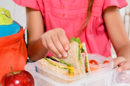 Packing Healthy School Lunches Tip #2 - Use small, portion controlled containers. We have to keep in mind that kids don't need the same portions as adults. They also don't have as much time to eat their lunch or snack.