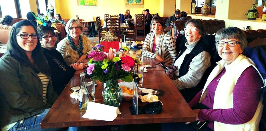 Mom's 60th Bday Lunch Que Pasa