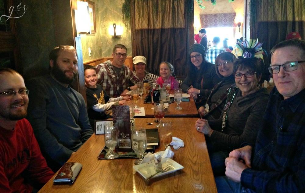 mom's 60th Bday Alpine Inn Lunch