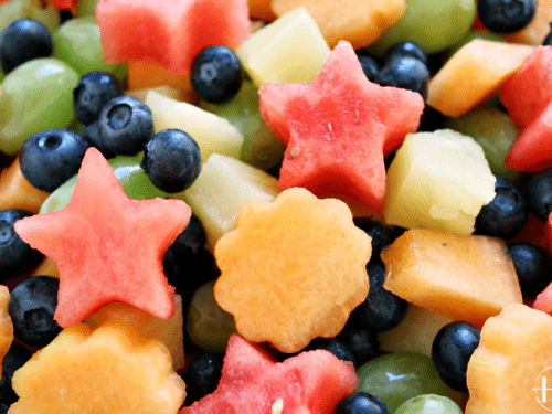 5 Ingredient Fresh Fruit Salad Happihomemade With Sammi Ricke