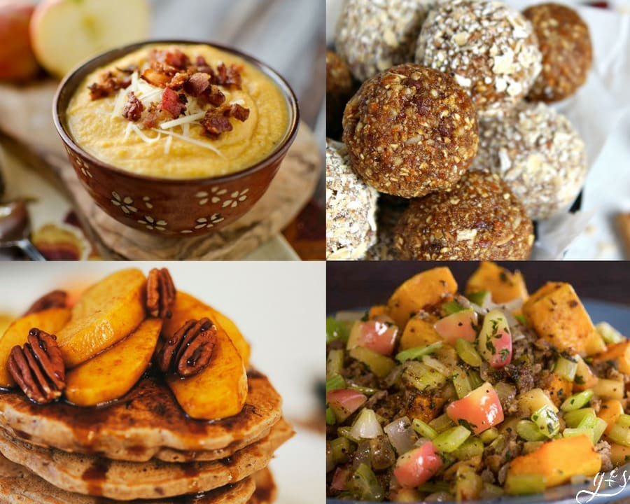 25 Clean Eating Fall Recipes Grounded Surrounded