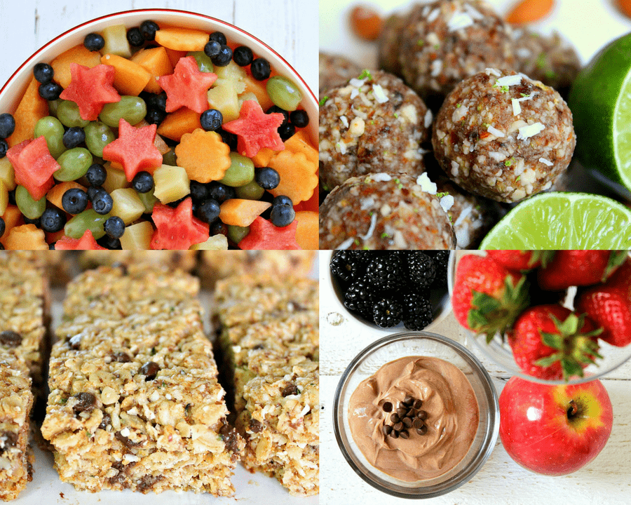 Snack Attack: 10+ Healthy & Simple Snack Recipes | Aren't we all looking for easy and quick snacks to take with us on the go or to lose weight (for weightloss). Homemade snacks are always the best, but sometimes we have to settle for store bought. Whether you fancy sweet or savory these ideas will provide you with protein and fiber to keep you full! These snacks are also great for kids, toddlers, teens and everyone in between.