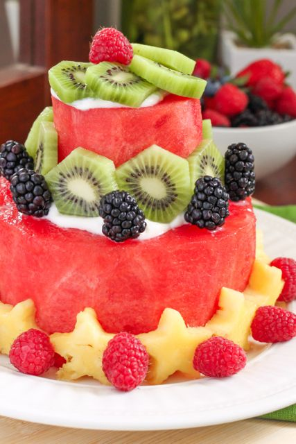 Watermelon Cake for summer.