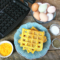 Scrambled Egg Waffles {GF & Clean Eating}