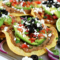 Easy Vegetarian Tostadas