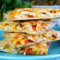 Chicken and Pico de Gallo Quesadillas