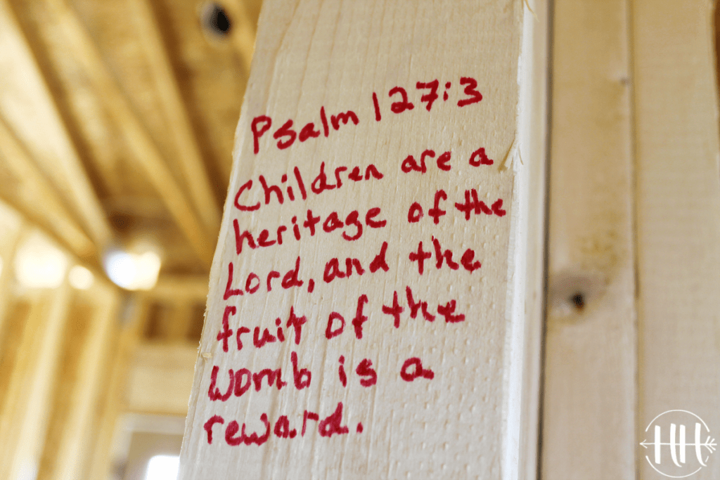 Psalm 127:3 Children are a heritage of the Lord, and the fruit of the womb is a reward.